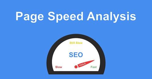 Показатели скорости Google Page Speed